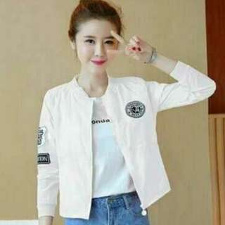 df bomber panther white