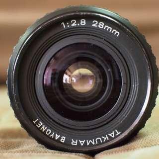 Takumar 28mm f2.8