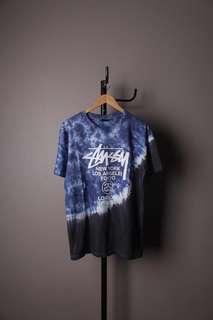 STUSSY World Tour Tye Dye Black Premium