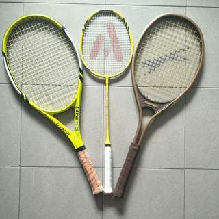 Tennis/ badminton rackets