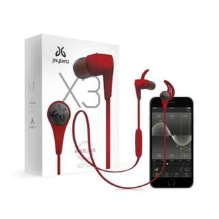 Brand New Jaybird X3 Red for Sale!