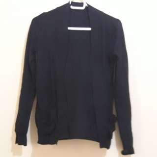black cardigan...free size...150 pesos free shipping within metro manila
