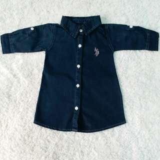 US polo girl dress