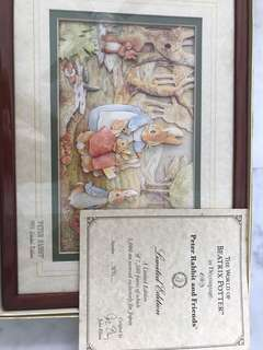 Peter Rabbit And Friends, Beatrix Potter, Decoupage