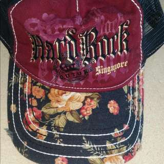 Hard Rock Cafe Floral Cap