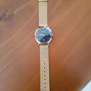 Rose gold witchery watch
