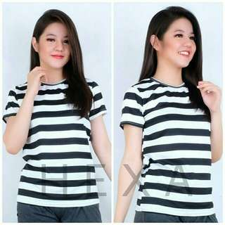 Tee basic stripe