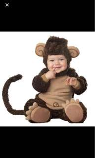 Monkey costume for baby