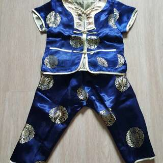 BN Chinese CNY traditional costume for boy