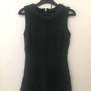 Dress zara hijau