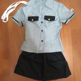 角色扮演女警察制服