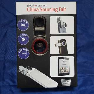 Universal Clip Lens (Fisheye, Wide-angle & Marco Lens)
