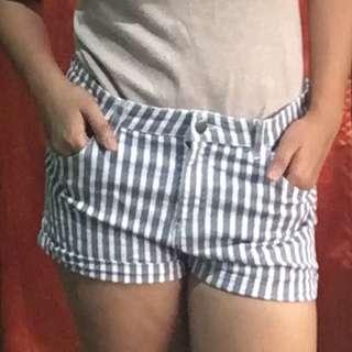 H&M Acid Wash Shorts