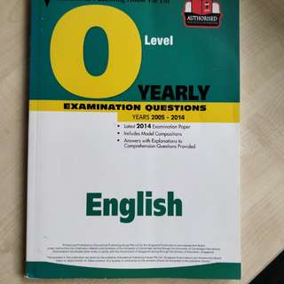 English O Level Examination Questions