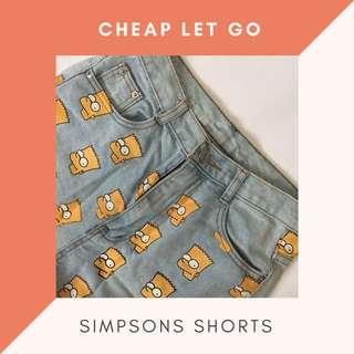 Simpson's Shorts