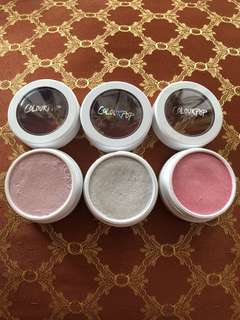Colourpop super shock cheek highlighters