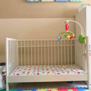 Katil Baby Ikea Gulliver + Tilam