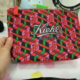 Kiehl's Cosmetic Pouch and Travel Pouch