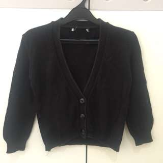 Cardigan mango black