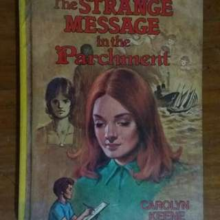 Nancy Drew hardbound books