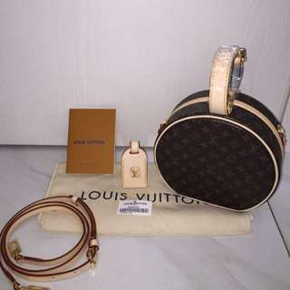 READY! LV PETITE BOITE CHAPE CHAPEAU MONOGRAM (MIRROR 1:1 WITH AUTHENTIC)