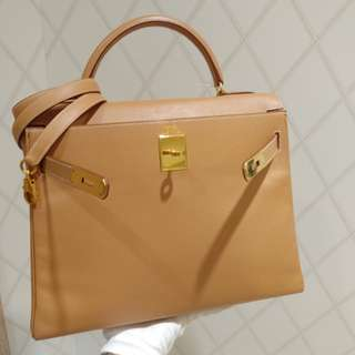 Hermes kelly 32 epsom natural