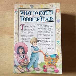 Parenting Books - What to expect in Toddler Year