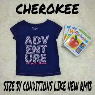 Tshirt Cherokee for girls