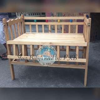 Wooden Crib Dropside PALOCHINA