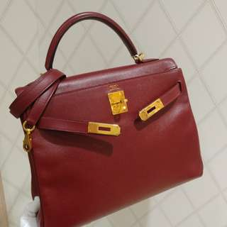 Hermes kelly 32 epsom rough H