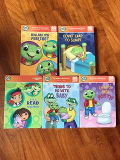 Leap Frog ready to read series