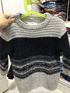 Zara knitted sweater for 4-5 years old boy