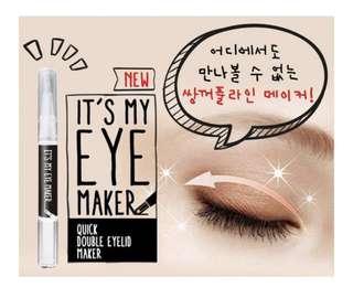 [It's] my eye maker 神奇雙眼皮改造筆