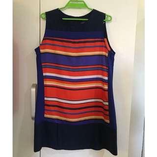 Stripes Dress-Plains & Prints