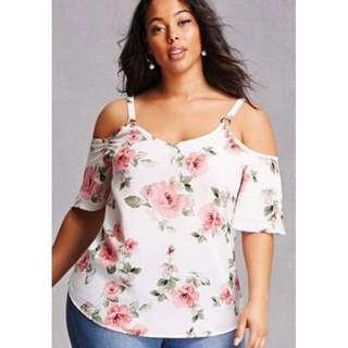 PREORDER Plus Size Floral Top