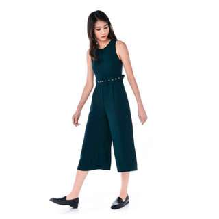 BNWT DOMANI BELTED JUMPSUIT