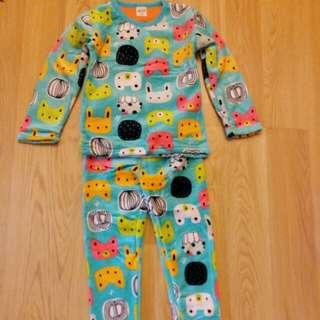 全新韓國男童睡衣 合3歲至4歲