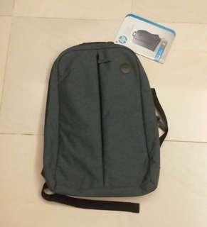 (全新)HP筆記本背包