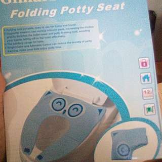 Folding Potty training seat