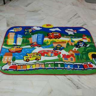 Musical Baby Playmat ( Happy City Playmat)