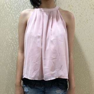 Pink beautiful tops by forever XXI