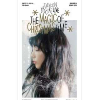 [PO] Taeyeon - Special Live DVD (The Magic Of Christmas Time)