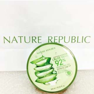 Nature republic 92% aloe vera