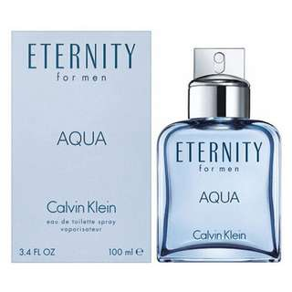 Calvin Klein Eternity Aqua EDT for Men (50ml/100ml/200ml/Tester) CK Blue