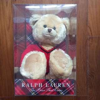 Ralph Lauren Plush Bear