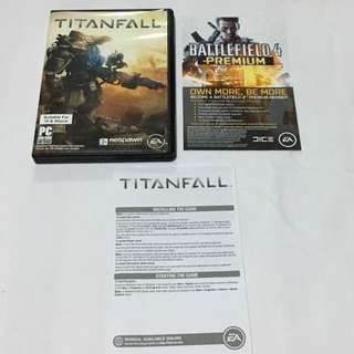 3DVD•CLEARANCE SALES {PCGAME - DVD EDITION} EA SPORTS : BN TITANFALL - 3 PC DVD-ROM