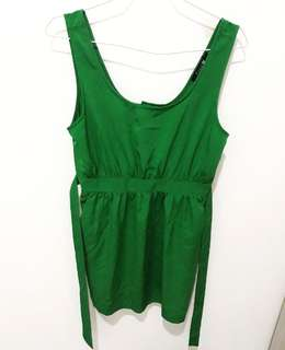Jumpsuit green by f21