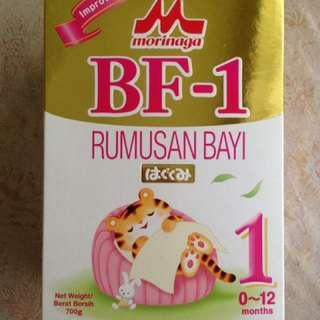 Morinaga BF-1 milk powder 0-12 months 350G