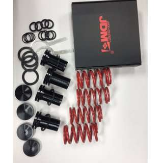 JDM    Adjustable Coilover Springs Lowering  Kits with  Scale Civic 88-00, CRX 88-91,  99-00 Integra model 39085