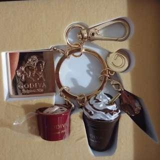 Godiva keychain